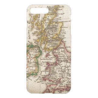 イギリス諸島の地図 iPhone 8 PLUS/7 PLUS ケース