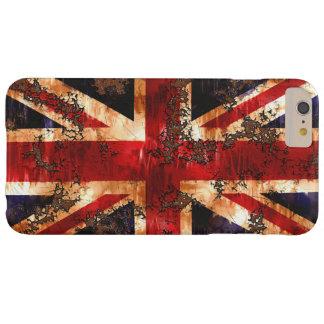 イギリス錆つかせた愛国心が強い旗 BARELY THERE iPhone 6 PLUS ケース