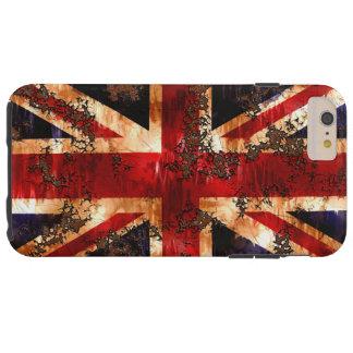 イギリス錆つかせた愛国心が強い旗 TOUGH iPhone 6 PLUS ケース