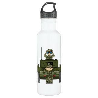 イギリス陸軍兵士およびタンク ウォーターボトル