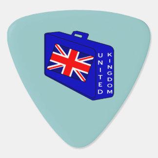 イギリス青の荷物 ギター用ピック