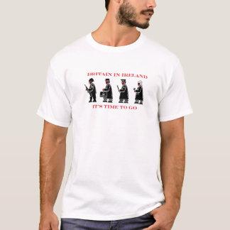 イギリス-それは行く時間です Tシャツ