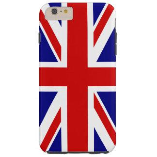 イギリス-イギリスの英国国旗の旗 TOUGH iPhone 6 PLUS ケース
