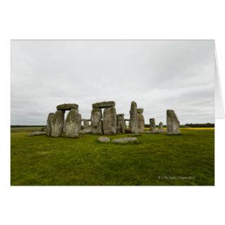 イギリス、ウィルトシャー、Stonehenge カード
