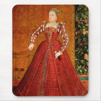 """イギリス(""""ハンプデンポートレート"""")のエリザベス女王一世 マウスパッド"""
