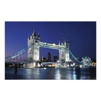 イギリス、ロンドンのタワー橋3 フォトプリント