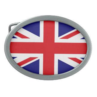 イギリス 卵形バックル