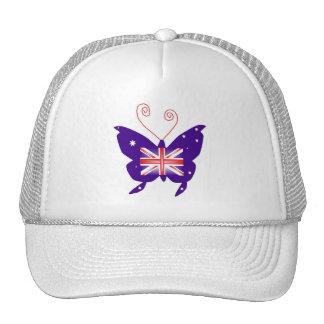 イギリス 花型女性歌手 蝶 ハット
