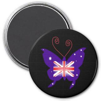 イギリス 花型女性歌手 蝶 磁石