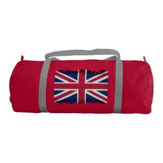 イギリス、英国国旗の英国旗の愛国心が強い旗 ジムバッグ