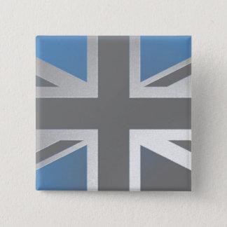 イギリス 5.1CM 正方形バッジ