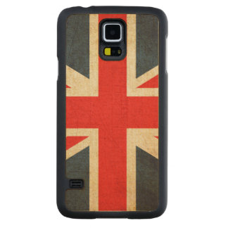 イギリス CarvedメープルGalaxy S5スリムケース
