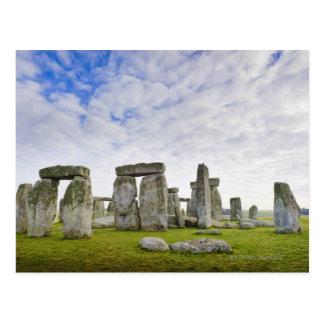 イギリス、Stonehenge ポストカード