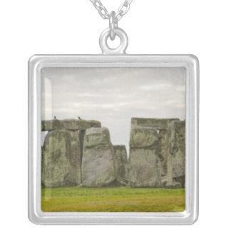 イギリス、Stonehenge 10 シルバープレートネックレス