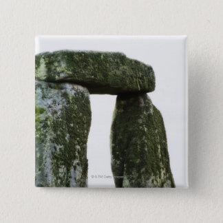 イギリス、Stonehenge 15 5.1cm 正方形バッジ