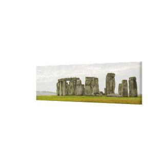 イギリス、Stonehenge 8 キャンバスプリント
