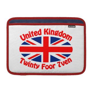 イギリス- Twinty Foor 7ven MacBook スリーブ