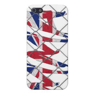 イギリスMMA 4GのiPhoneの場合 iPhone 5 カバー