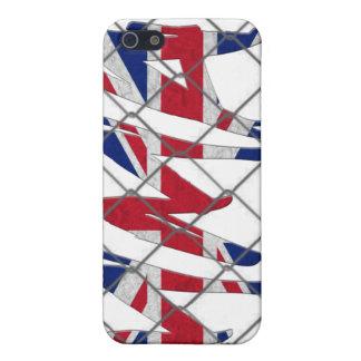 イギリスMMA 4GのiPhoneの場合 iPhone 5 ケース