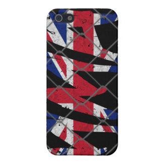 イギリスMMA 4GのiPhoneの場合 iPhone 5 Case