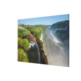 イグアスの滝の国立公園、アルゼンチン キャンバスプリント