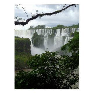 イグアスの滝アルゼンチン ポストカード