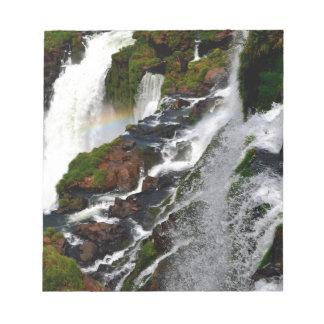 イグアスの滝5 ノートパッド