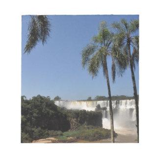 イグアスの滝6 ノートパッド