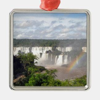 イグアスの滝8 メタルオーナメント