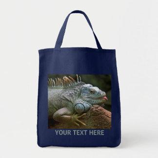 イグアナのバッグ トートバッグ