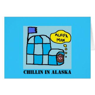 イグルー(2)、アラスカのCHILLIN カード