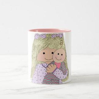 イザベラと人形 ツートーンマグカップ