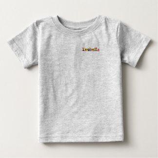 イザベラのベビーの罰金のジャージーのTシャツ ベビーTシャツ
