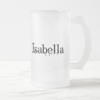 イザベラのマグ フロストグラスビールジョッキ