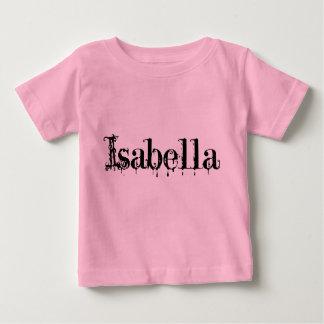 イザベラの幼児のワイシャツ ベビーTシャツ