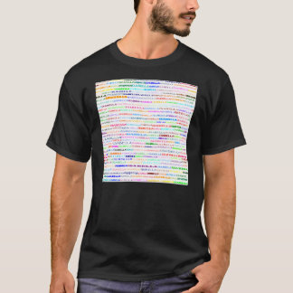 イザベラの文字デザインなII暗闇のワイシャツの男性 Tシャツ