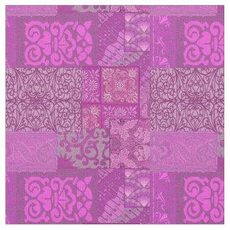 イザベラの紫色 ファブリック