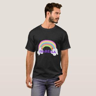 イザベラの虹のお祝いのギフトのティー Tシャツ