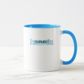 イザベラの青い信号器のスタイルのマグ マグカップ