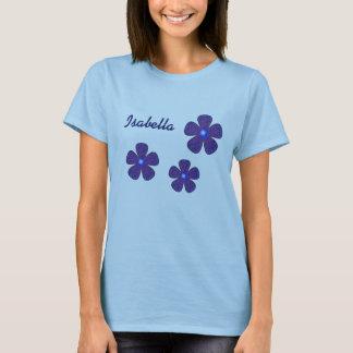 イザベラの青の花 Tシャツ