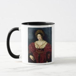 イザベラのd'Esteの死後のポートレート マグカップ