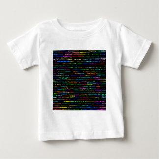 イザベラ文字デザインなIのワイシャツの乳児 ベビーTシャツ