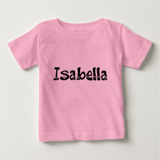 イザベラ(スマイリー)の幼児のワイシャツ ベビーTシャツ