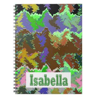 イザベラ- Naveenからの野生の緑の芸術 ノートブック