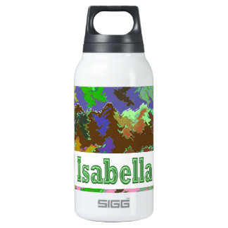 イザベラ- Naveenからの野生の緑の芸術 断熱ウォーターボトル