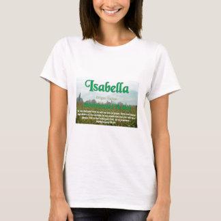 イザベラ Tシャツ