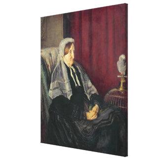 イザベラHeugh 1872年 キャンバスプリント