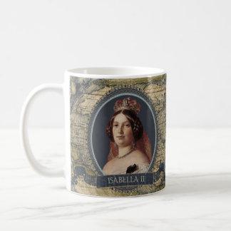 イザベラIIの歴史的マグ コーヒーマグカップ