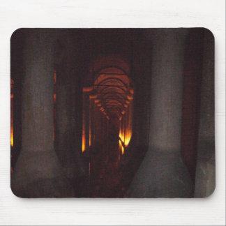イスタンブールの写真のバシリカ会堂の水槽 マウスパッド