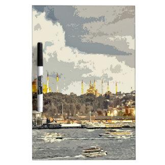イスタンブールの午後 ホワイトボード